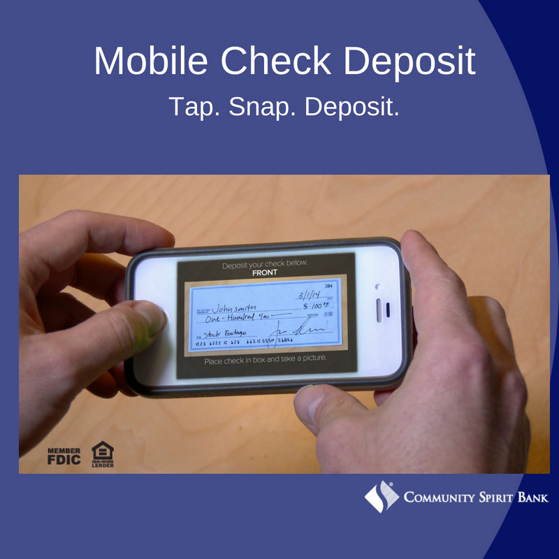 Mobile Check Deposit Information